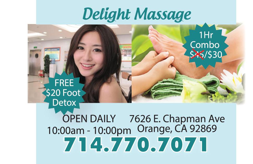 massage med afslutning annonce delight