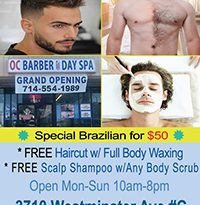 OC Barber & Day Spa